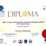 Diploma Aur Euroinvent 2016